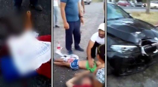 Оружие нашли в багажнике у полицейского, сбившего на BMW людей в ЮКО