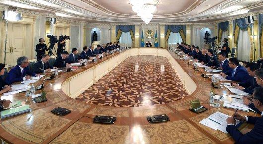 Частая смена руководства в госорганах происходит из-за командных перемещений - Назарбаев