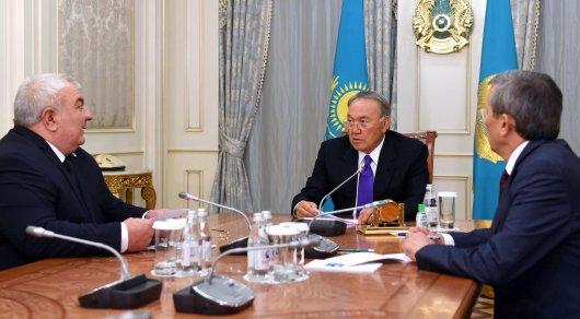 Назарбаев встретился с генеральным секретарем ОДКБ