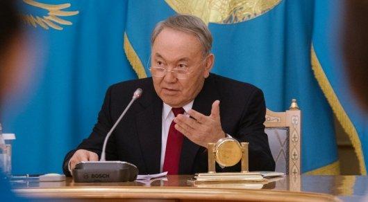 Не надо перекладывать ответственность на других - Назарбаев членам правительства