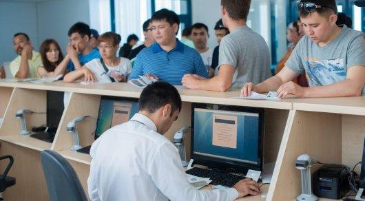 В ЦОНах Алматы появится пропускная система