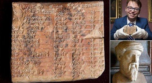 Ученые разгадали тайну 3700-летней вавилонской таблички