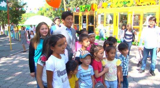 Байбек поздравил зоопарк Алматы с 80-летием