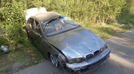 В Алматы у BMW отказали тормоза: Машина сделала