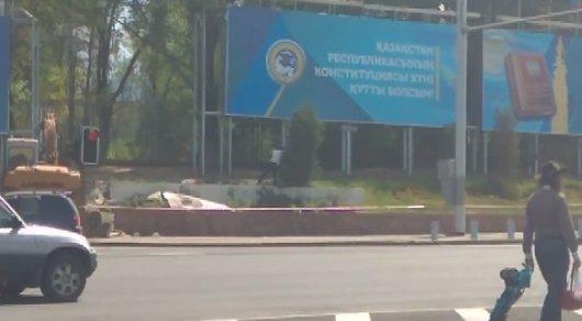 """Пользователь заснял акт """"варварства"""" на Площади Республики"""