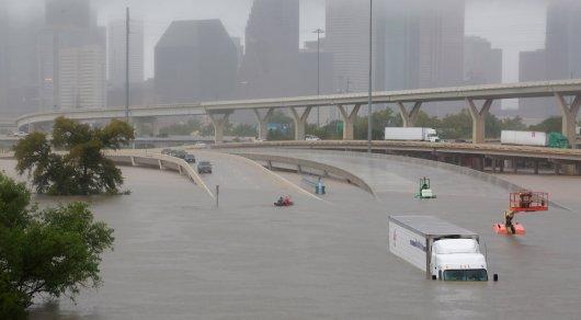 В 100 миллиардов долларов обойдется Техасу ураган