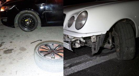 Разбитые диски и бамперы. К чему приводит халатность дорожных работников в Алматы