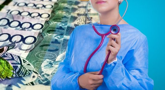 Сколько казахстанцы перечислили в фонд социального медстрахования