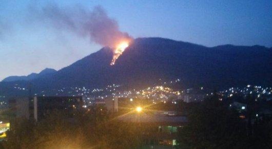 Заблудившийся польский турист устроил огромный пожар в Черногории