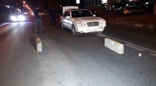 Ночь разбитых бамперов по улице Толе би в Алматы: подрядчиков наказали