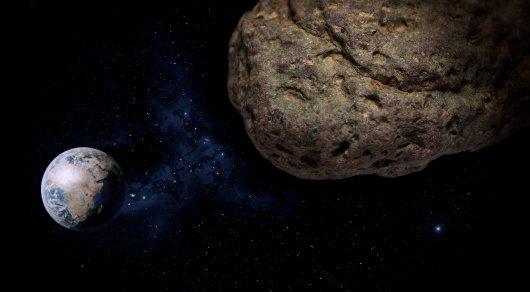 Астероид размером с город