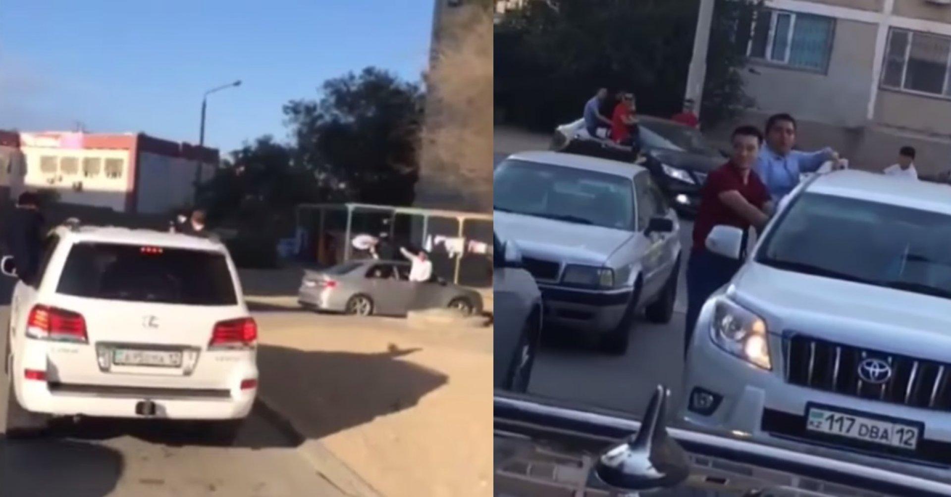 Водитель из санкт-петербурга высунул голову из окна и сделал селфи на трассе в карелии
