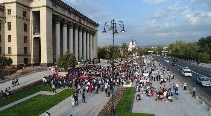 Фото пресс-службы акимата Алматы.