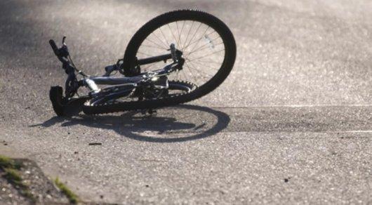 Снял велосепедистку