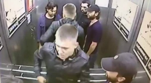 Из фильма как мужик уложил хулиганов в автобусе