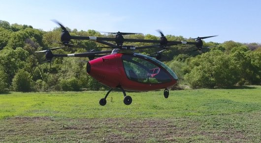 1-ый пассажирский дрон может поступить в реализацию уже в2016-м году