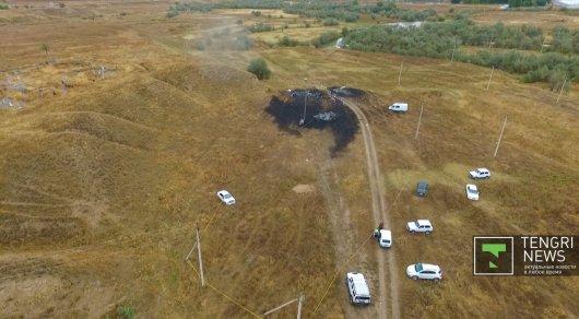 Пофакту крушения самолета вКазахстане возбуждено уголовное дело