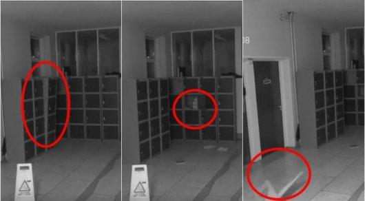 Вшколе вИрландии камеры наблюдения засняли привидение