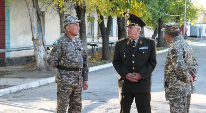 Ветераны вооруженных сил рк