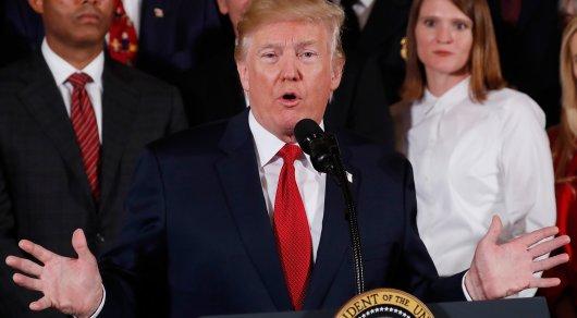 Трамп встретился вОвальном кабинете сдетьми американских репортеров послучаю Хеллоуина