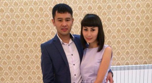 Алишер Турагул с женой. Фото из личного архива.