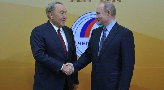 Назарбаев вспомнил, как пил сПутиным пиво вЧелябинском кафе