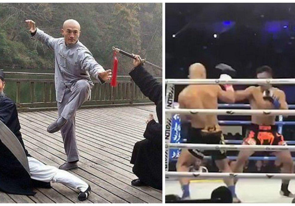 Бой шаолиньского монаха с тайским боксером стал хитом YouTube