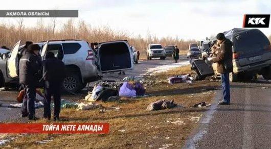 3 человека погибли в итоге ДТП натрассе Алматы— Кокшетау