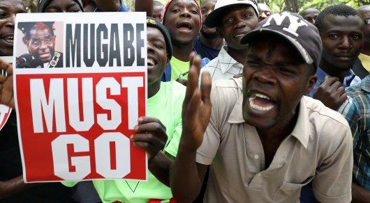 ВЗимбабве назван срок парламентских слушаний поимпичменту Мугабе
