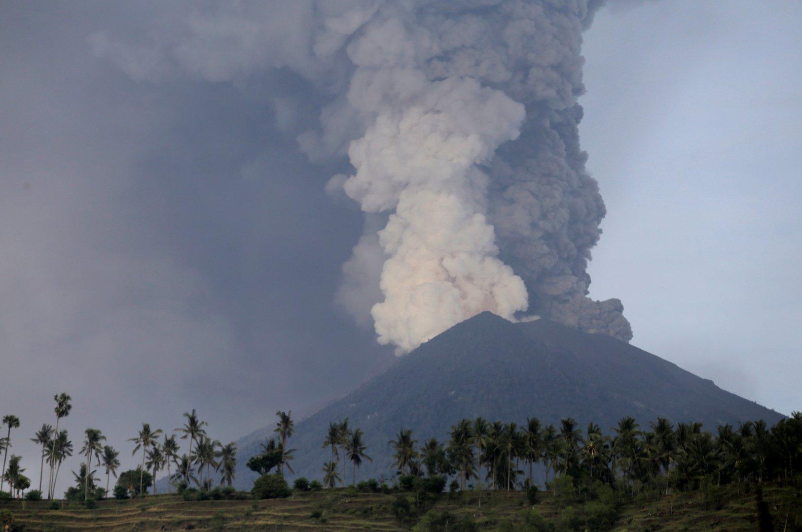 vulkan на бали