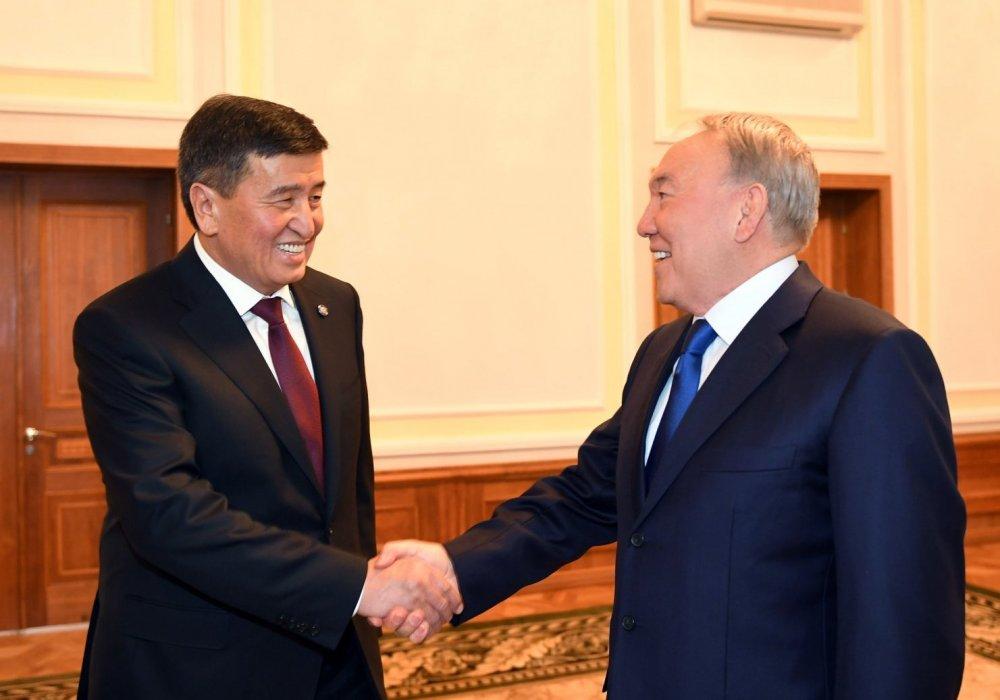 Президент Кыргызстана поблагодарил Назарбаева
