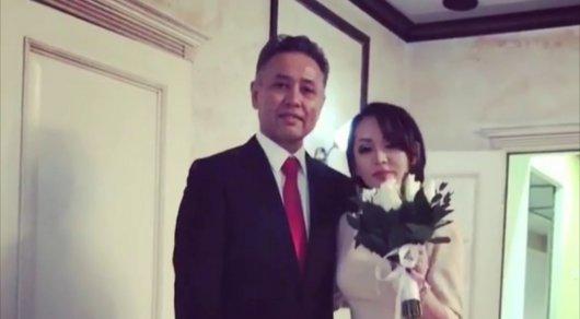 Баян Максаткызы  вышла замуж (видео)