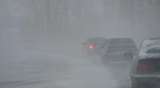 Штормовое предупреждение вАрхангельской области: метель исильный ветер