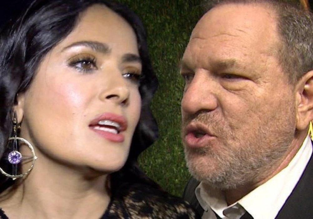 Голливудский секс-скандал коснулся и Сальму Хайек