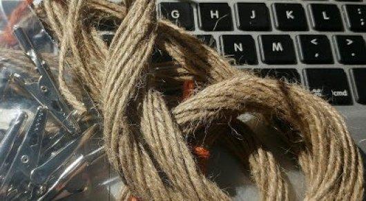Инженер из Великобритании подключился кИнтернету по влажной веревке