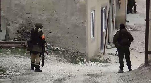 Одного боевика удалось ликвидировать впроцессе штурма дома вДагестане