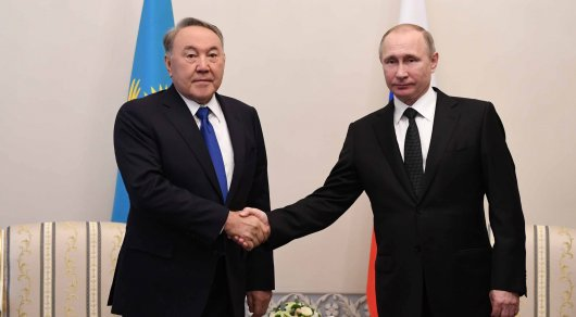 Назарбаев объявил о собственной поддержке Владимиру Путину напредстоящих выборах