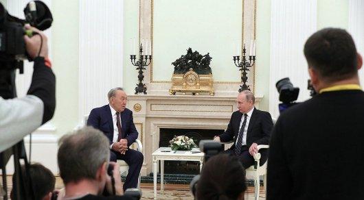 Назарбаев пожелал Путину удачи напредстоящих выборах