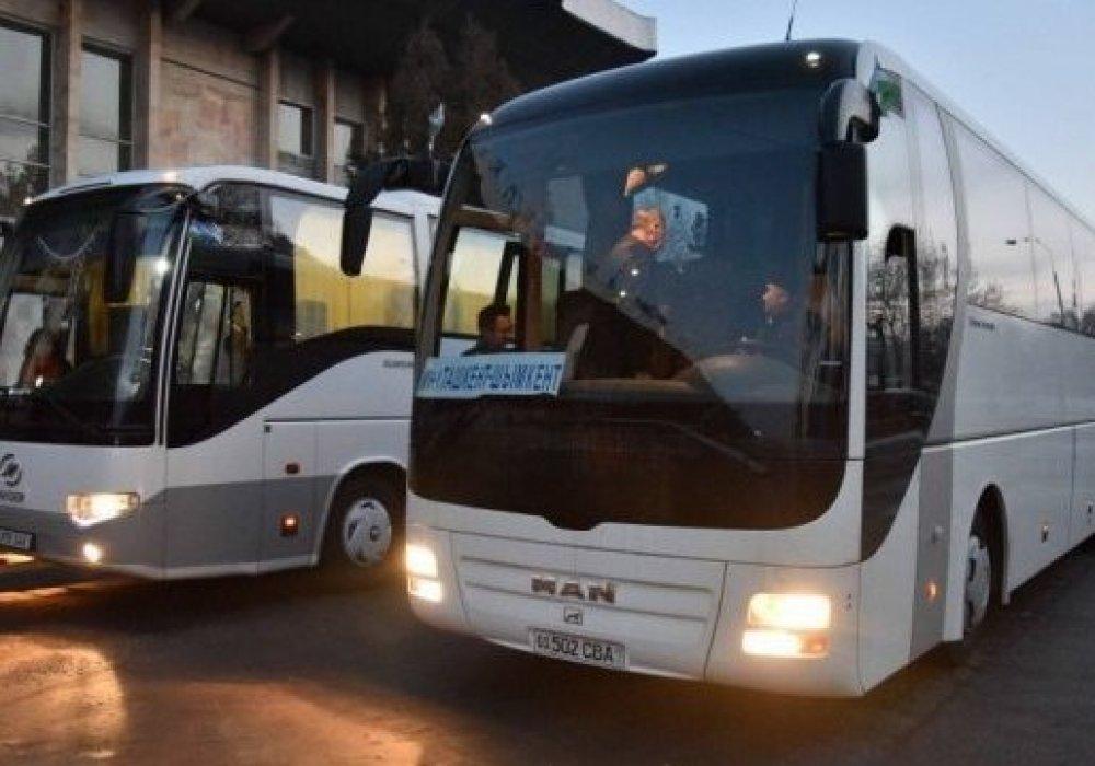 Пассажирские перевозки в казахстан из россии авито спецтехника клинцы