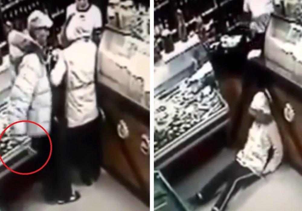 Видеорассылка жестокого убийства покупательницы в магазине напугала казахстанцев