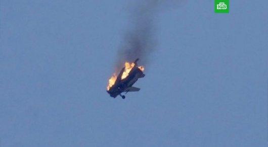 Пилот сбитого Су-25 принял бой