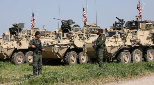 Коалиция США нанесла удары посирийской армии