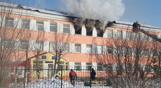 Детский дом зажегся вАстане: есть пострадавшая