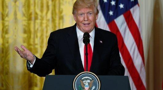 В съезде  раскритиковали Трампа заподдержку снятия ограничений насрок президентства