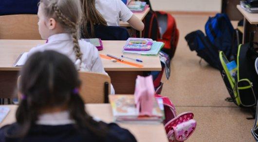 Из-за сильной метели вАстане отменили занятия для младших классов