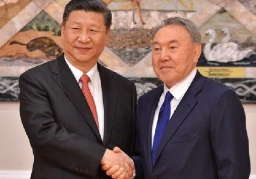 Назарбаев поздравил Си Цзиньпина
