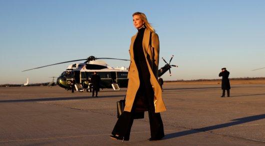 Дочь изять Трампа едва непогибли вкрушении вертолета— Отказал мотор