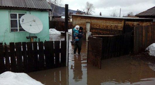 Граждан еще одного поселка эвакуируют из-за подтоплений вВКО