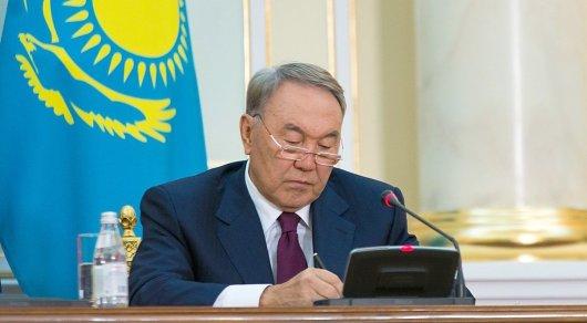 Казахстан хочет продолжить расширение связей сРоссией— Назарбаев