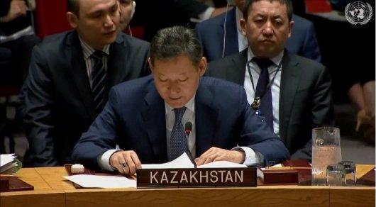 Кайрат Умаров. Фото: twitter.com/UnitedNationsRU